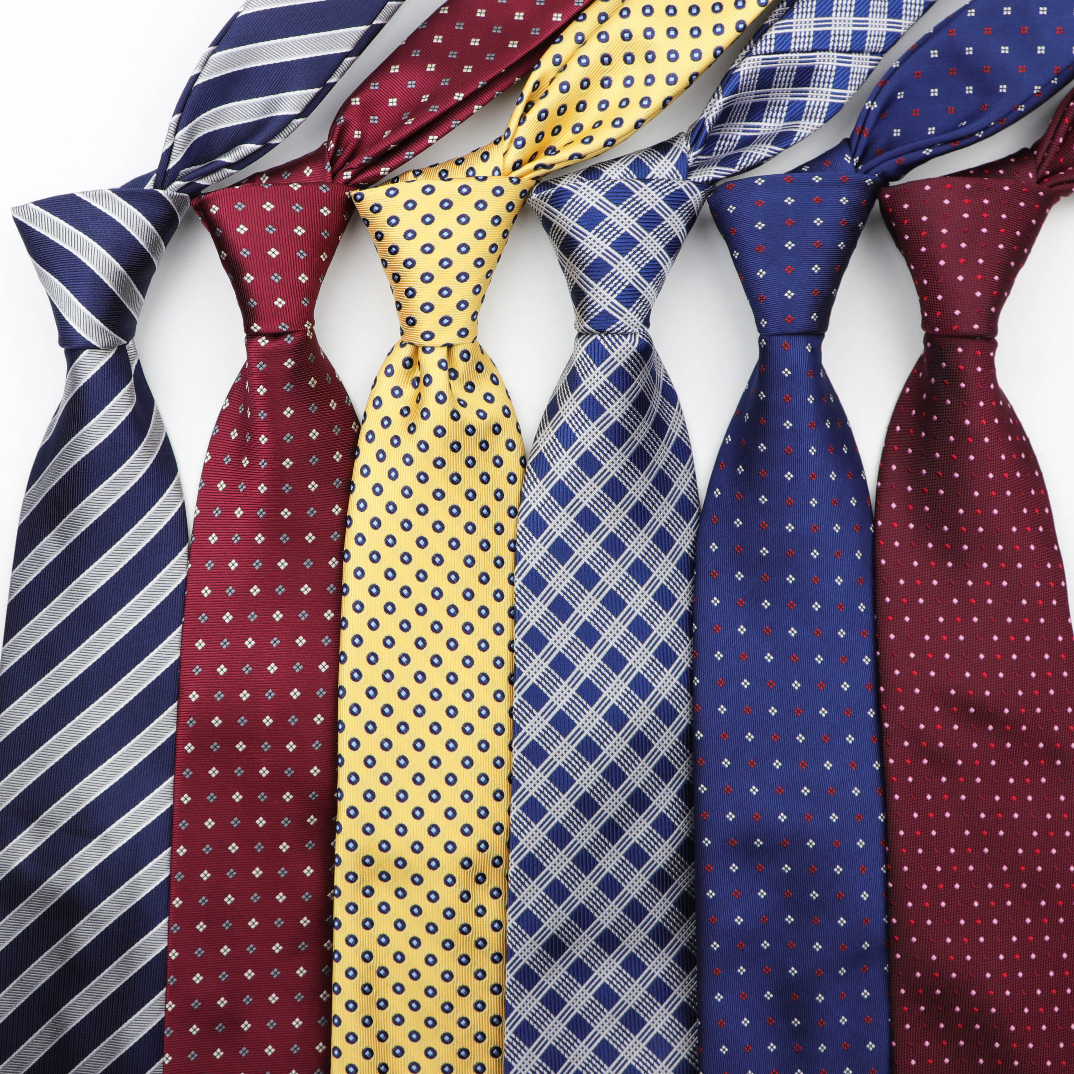 [해외]클래식 스트라이프 스키니 넥타이 8 cm 남성 정장 자카드 비즈니스 웨딩 넥타이/클래식 스트라이프 스키니 넥타이 8 cm 남성 정장 자카드 비즈니스 웨딩 넥타이