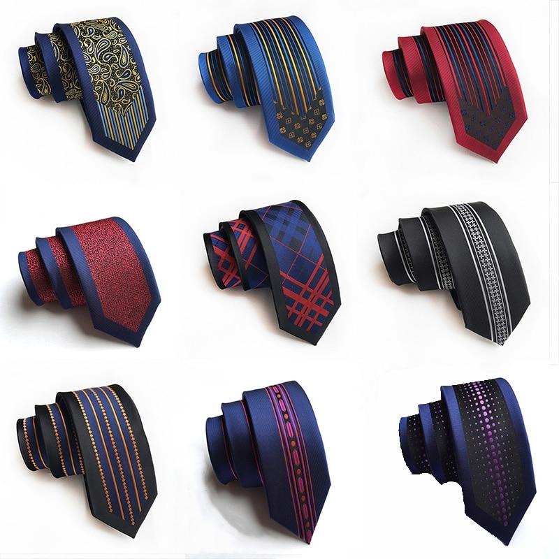[해외]New Arrival Mens Ties 6cm Skinny Silk Tie Casual Fashion British Style Wedding Narrow Necktie  Gifts for Men/New Arrival Mens Ties 6cm S