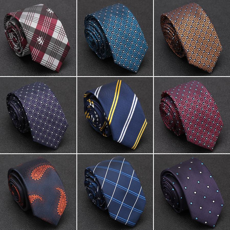 [해외]Mens Tie Luxury Formal Fashion Jacquard Ties for Men Business Wedding Classic Gravata Dress Bowtie Accessories Man Slim Necktie/Mens Tie