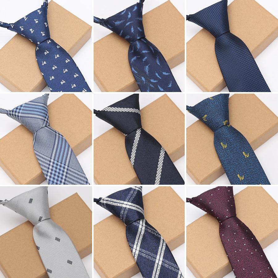 [해외]XGVOKH Men Zipper Lazy Ties Business Necktie for Man Tie Easy To Pull Rope Neckwear Wedding Ties Fashion Shirt Dress Accessories/XGVOKH