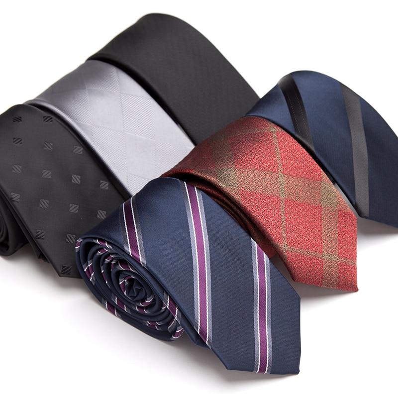 [해외]Men Tie Fashion Luxury Skinny Ties for Men Jacquard Tie Business Man Wedding Dress Striped Accessories Gifts Necktie/Men Tie Fashion Lux