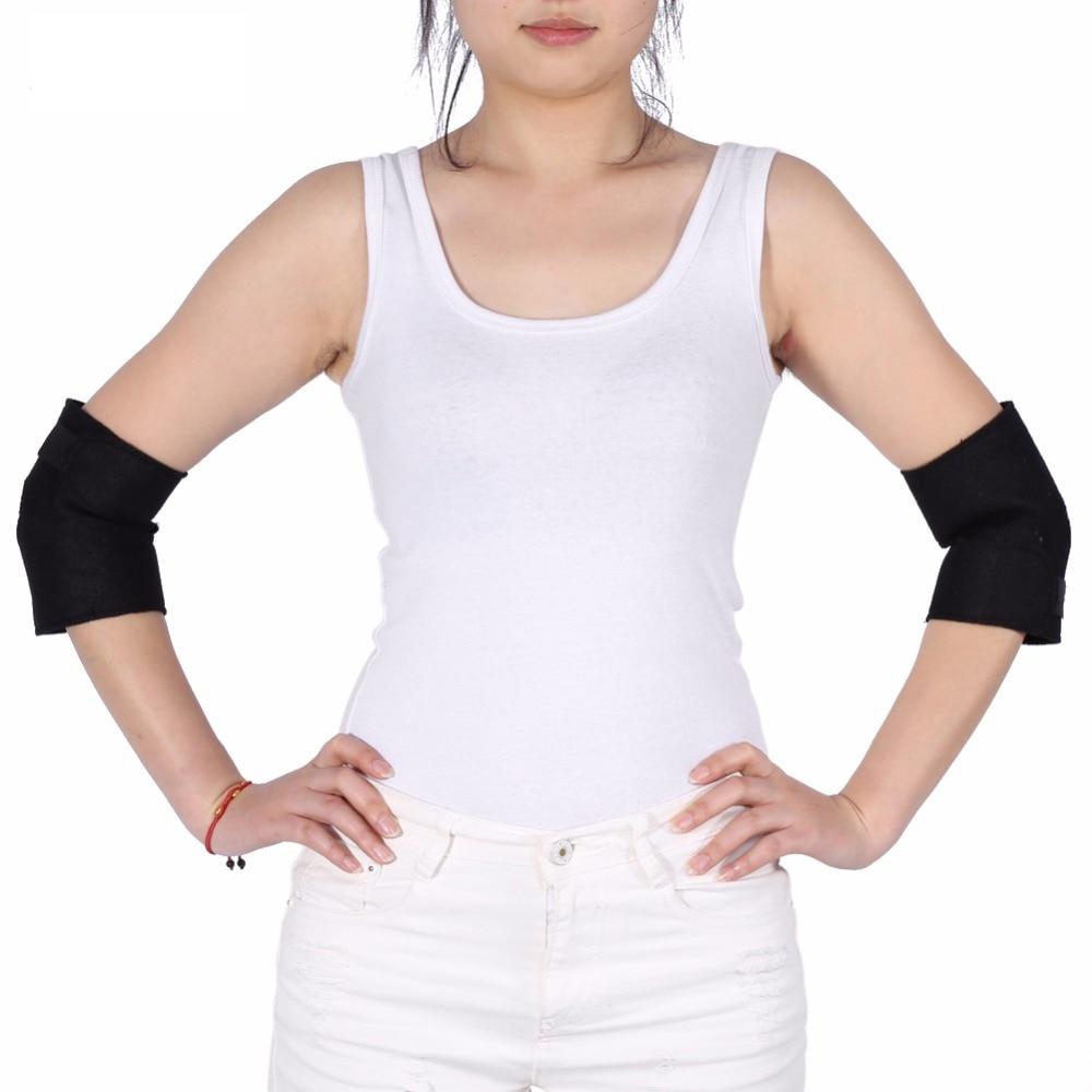 [해외]전기석 자체 가열 팔꿈치 지지대 받침대 관절염 보호대 자기 관절 통증 완화 무릎 팔꿈치 받침대 암 온열 장치