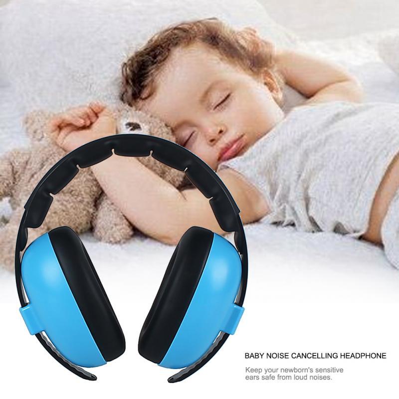 어린이 소음 차단 귀마개 헤드폰 abs 청력 보호 안전 귀마개 소음 감소 귀 보호대 아기 #135