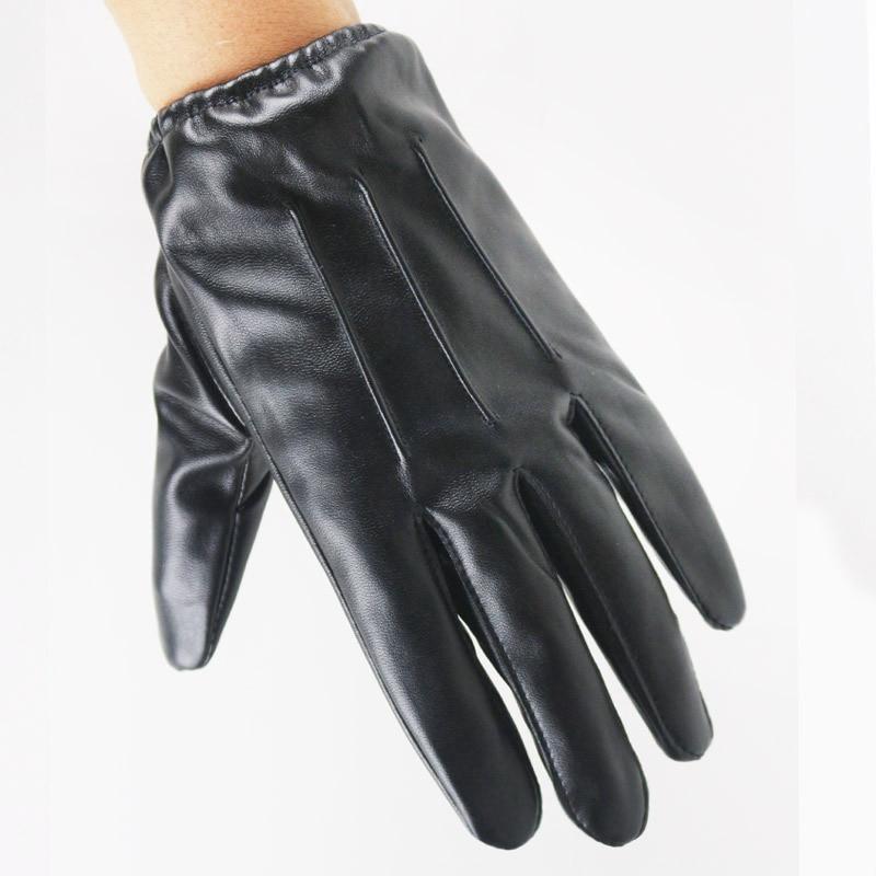 [해외]Couple Models Touch Screen Gloves Men/Women Driver PU Leather Gloves Three Ribs Winter Plus Plush Warm Fashion Riding Gloves L57/Couple Models Tou
