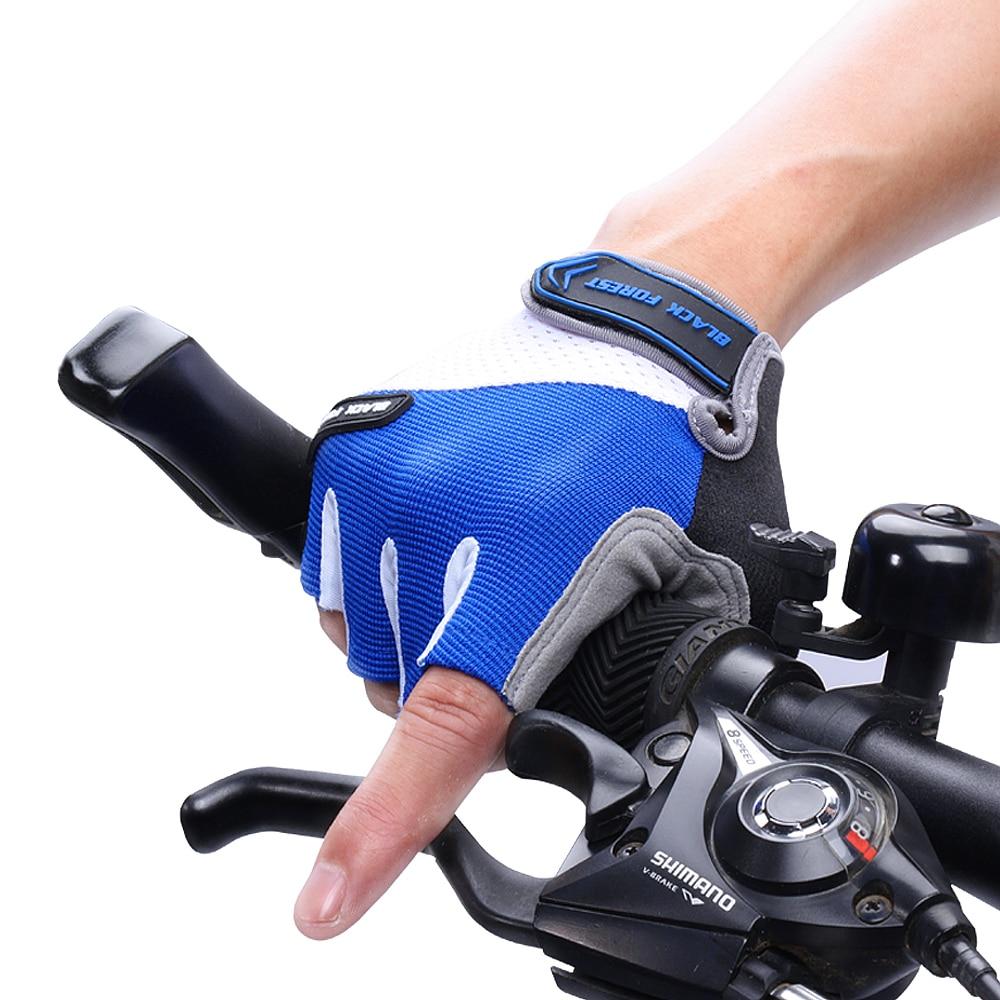 [해외]Half Finger Mittens Gloves Breathable Shockproof  ProGel Glove Mountain Sports Luvas ciclismo Men`s Glove Tactical guantes mujer/Half Finger Mitte