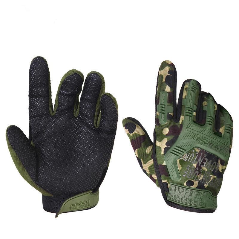 전술 장갑 남자 군사 전체 손가락 전투 장갑 안티-슬립 사냥 luva tatica 육군 airsoft 페인트 볼 guantes handschoenen