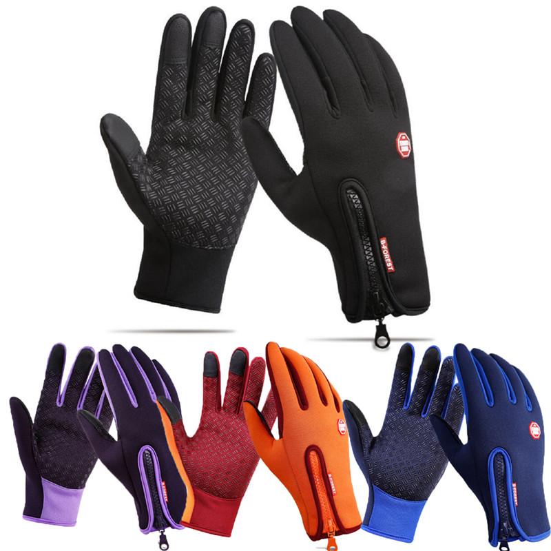 새로운 터치 스크린 windproof 야외 스포츠 장갑 남자 여자 육군 guantes tacticos luva 겨울 따뜻한 방수 장갑 3fs