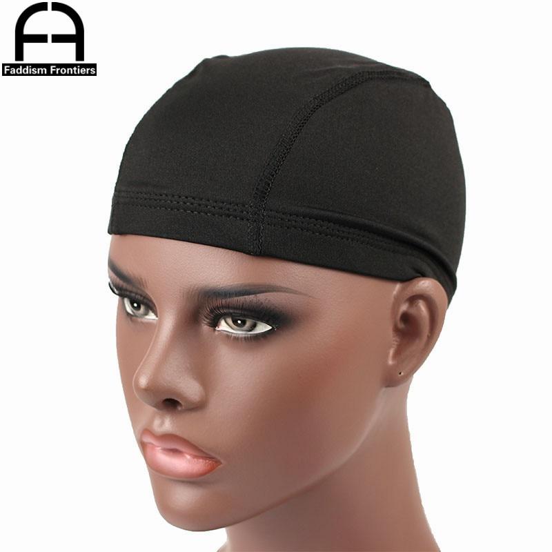[해외]Men`s Spandex Seamless Dome Cap Stretchy Headwear Turban Hat DuRag Hair Cover Accessories Dome Caps for Men/Men`s Spandex Seamless Dome Cap Stretc