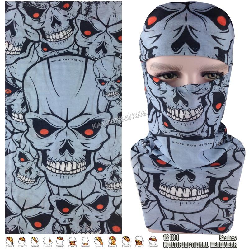 [해외]익스프레스 배송 100 개/몫 (믹스 모델 ok) puplar grey skulls 매직 스카프 balaclava beanie cap 다기능 두건 모자/익스프레스 배송 100 개/몫 (믹스 모델 ok) puplar grey skulls 매직 스