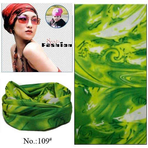 [해외]100 개/몫 도매 좋은 인기있는 야외 스포츠 녹색 폴리 에스터 원활한 다기능 모자를 쓰고 있죠 튜브 두건 (혼합 디자인 ok)/100 개/몫 도매 좋은 인기있는 야외 스포츠 녹색 폴리 에스터 원활한 다기능 모자를 쓰고 있죠 튜브 두건 (혼합