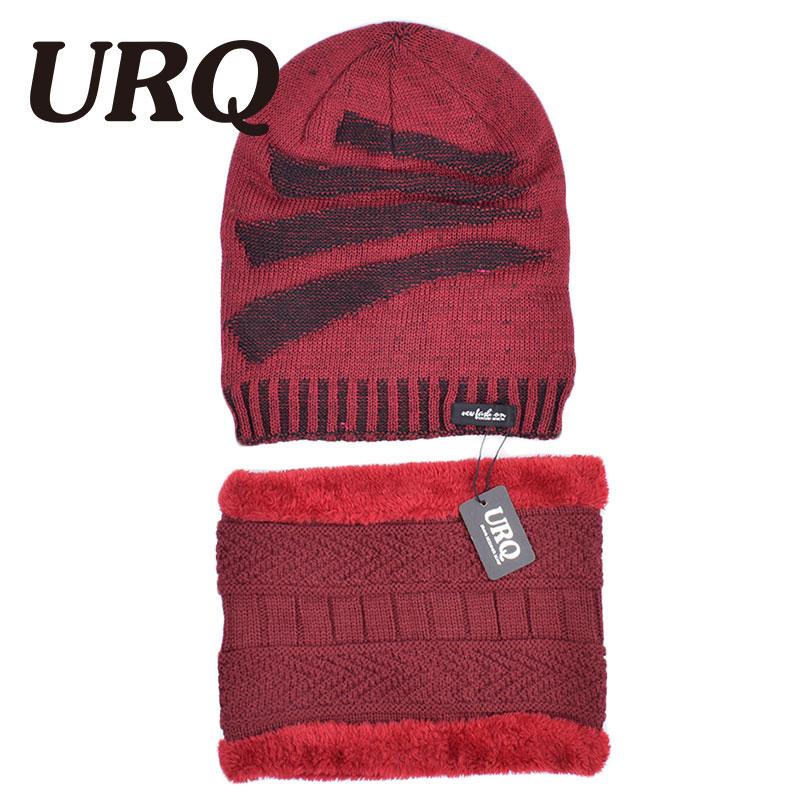 [해외]men cap and scarfFaux Fur warm soft caps in winter Acrylic knitted adult hat Scarf, Hat & Glove Sets   new HZ1014/men cap and scarfFaux Fur wa