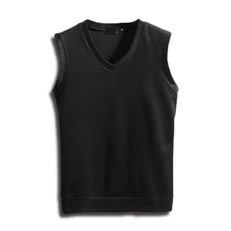 [해외]MUXNSARYU Cashmere Classic Vest Sweater Men Sleeveless Sweaters Solid Color V-Neck Wool Pullovers Men Jersey Hombre/MUXNSARYU Cashmere Classic Ves