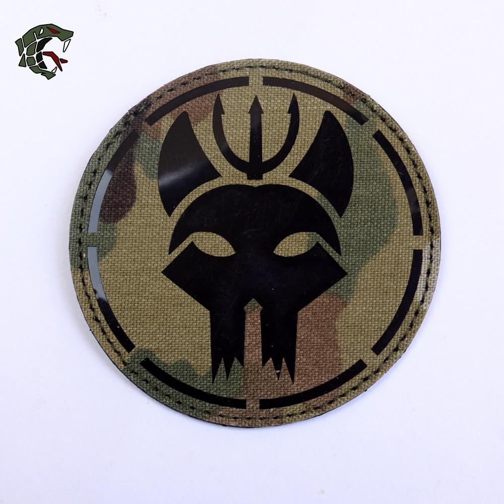 [해외]TSNK Military Enthusiasts Patch Army Tactical Boost Morale Badge  \