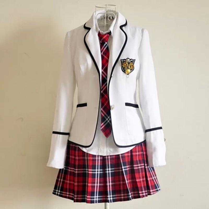 [해외]New Primary School Uniforms and Long Sleeve Primary School Japanese School Uniforms Students Read British Student Uniforms/New Primary School Unif