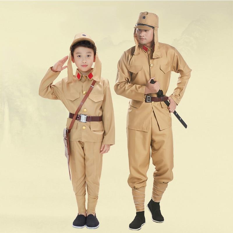 [해외]일본 군인 제복 Da Zuo의 의류 제 2 차 세계 대전 제복 일본 일본 병사 무대 의상/Japanese Soldier Uniform Da Zuo`s Clothing 2nd World War Millitary Uniform Japan Anti Japanese S