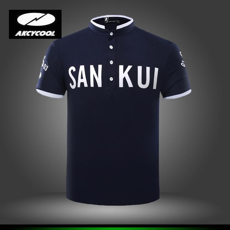 [해외]남성 남자의 비즈니스 & A를새로운 2016 남자의 브랜드 폴로 셔츠; 캐주얼 인쇄 폴로 셔츠 짧은 Retail 통기성 폴로 셔츠/New 2016 Men&s Brand Polo Shirt for Men  Men &s Business & Casual