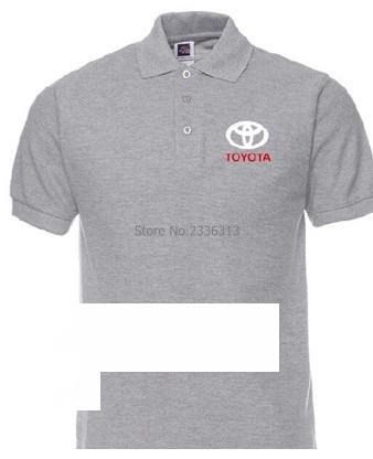 [해외]여름 TOYOTA 코튼 반팔 티셔츠 폴로 셔츠 셔츠 4S 상점 고객 의류/Summer TOYOTA polo shirt cotton short-sleeved polos shirts car 4S shop customer clothes