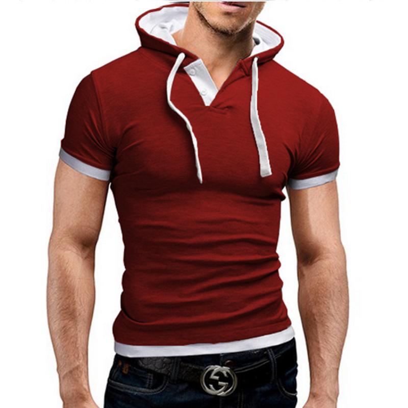 [해외]브랜드 2016 Mens Polo Shirt 짧은 Retail 단색 Poloshirt 남성 폴로 옴므 슬림 남성 의류 Camisas Hooded Camisa Polo Shirt 4XL/Brand 2016 Mens Polo Shirt Short-Sleeve Sol