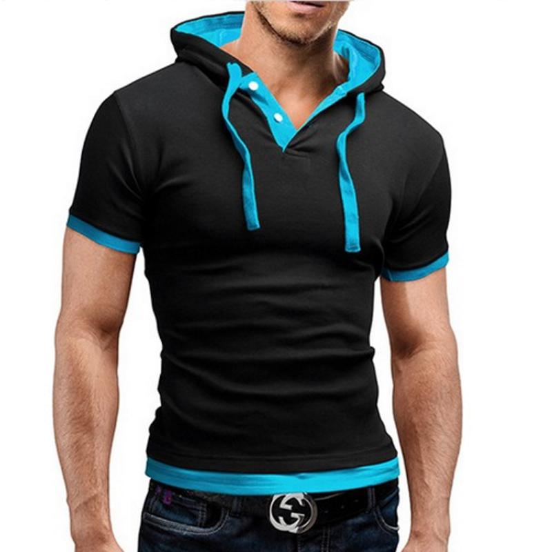 [해외]브랜드 2017 남성 폴로 셔츠 반팔 솔리드 폴로 셔츠 남성 폴로 옴므 슬림 남성 의류 Camisas Hooded Camisa 폴로 셔츠 XXXL/Brand 2017 Mens Polo Shirt Short-Sleeve Solid Poloshirt Men Polo