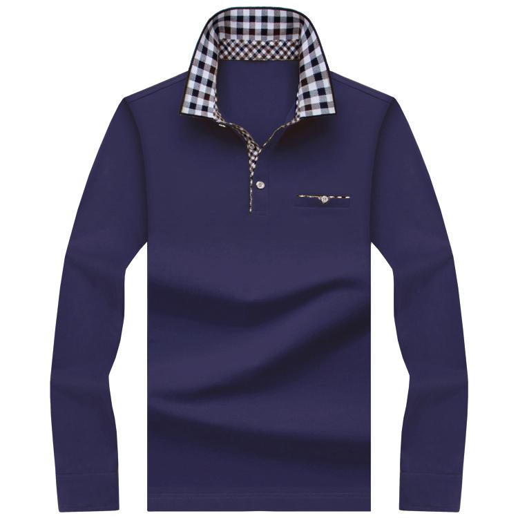 [해외]폴로 남성 셔츠 남성 긴 Retail 솔리드 셔츠 카미사 폴로스 Masculina 캐주얼 면화 스트라이프 플러스 크기 S-10XL 브랜드 뉴 탑스 티셔츠/Polo Men Shirt Mens Long Sleeve Solid Shirts Camisa Polos Ma