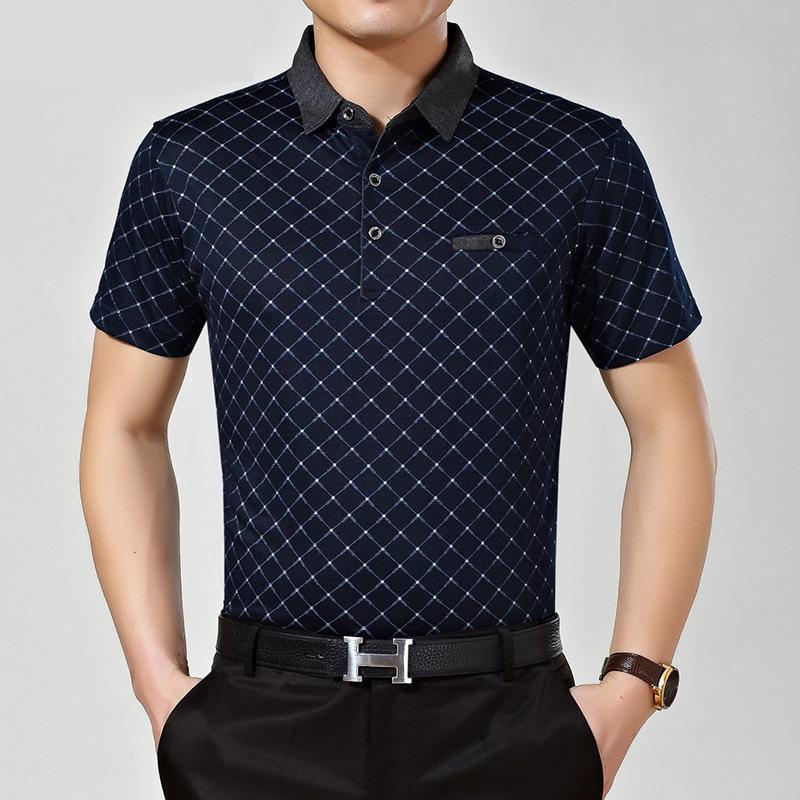 [해외]2016 년 여름 스타일 캐주얼 남성 폴로 셔츠 클래식 루스 브랜드 반팔 티셔츠 폴로 hombre manga corta marca/2016 Summer Style Casual men Polo shirt Classic  Loose Brands Short Sleev