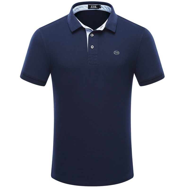 [해외]2017 고품질 남성 폴로 셔츠 여름 짧은 Retail 코 튼 남자 & 폴로 패션 비즈니스 캐주얼 폴로 셔츠 브랜드 의류 camisa/2017 high quality men polo shirt Summer short sleeved cotton men&s
