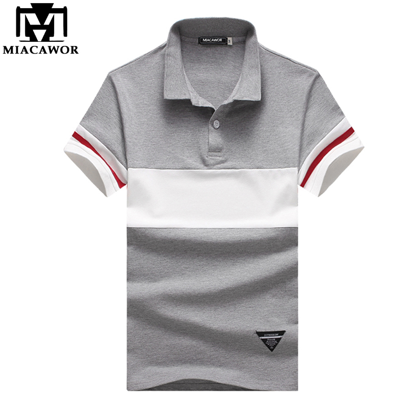 [해외]MIACAWOR New 브랜드 남성 티셔츠 캐주얼 탑 & amp; Tees Polo Homme 여름 짧은 Retail 캐미솔 폴로 Masculina 플러스 크기 5XL MT568/MIACAWOR New Brand Men Polo Shirt Casual T