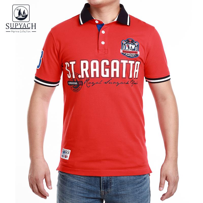 [해외]SUPYACH Men & s ST.Regatta 반팔 티셔츠/SUPYACH Men&s ST.Regatta Short Sleeve Polo Shirt