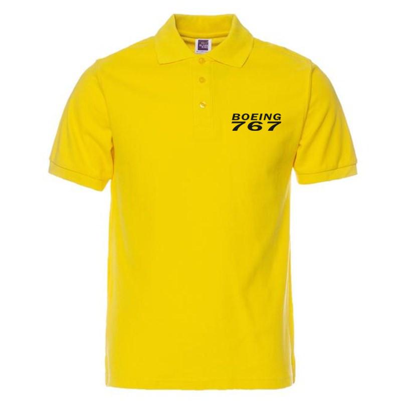 [해외]XQXON-Multicolor 큰 사이즈 티셔츠 BOEING 767 여름 캐주얼 남성 티셔츠 P22 프린트/XQXON-Multicolor Large size Polo shirts BOEING 767 print summer casual men polo shirt