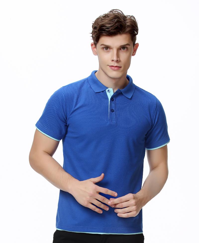 [해외]브랜드 의류 폴로 셔츠 솔리드 캐주얼 폴로 옴 남성 티 셔츠 탑 코튼 슬림 맞는 Accpet 사용자 정의 로고 인쇄/Brand Clothing Polo Shirt Solid Casual Polo Homme For Men Tee Shirt Tops  Cotton