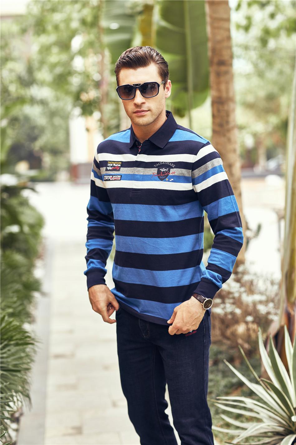 [해외]폴로 셔츠 남성 긴 Retail 만화 larga 억만 장자 폴로 셔츠 남자 camisa masculina 면화 camisa 폴로 masculina de marca 로고/polo shirt men long sleeve manga larga billionaire p