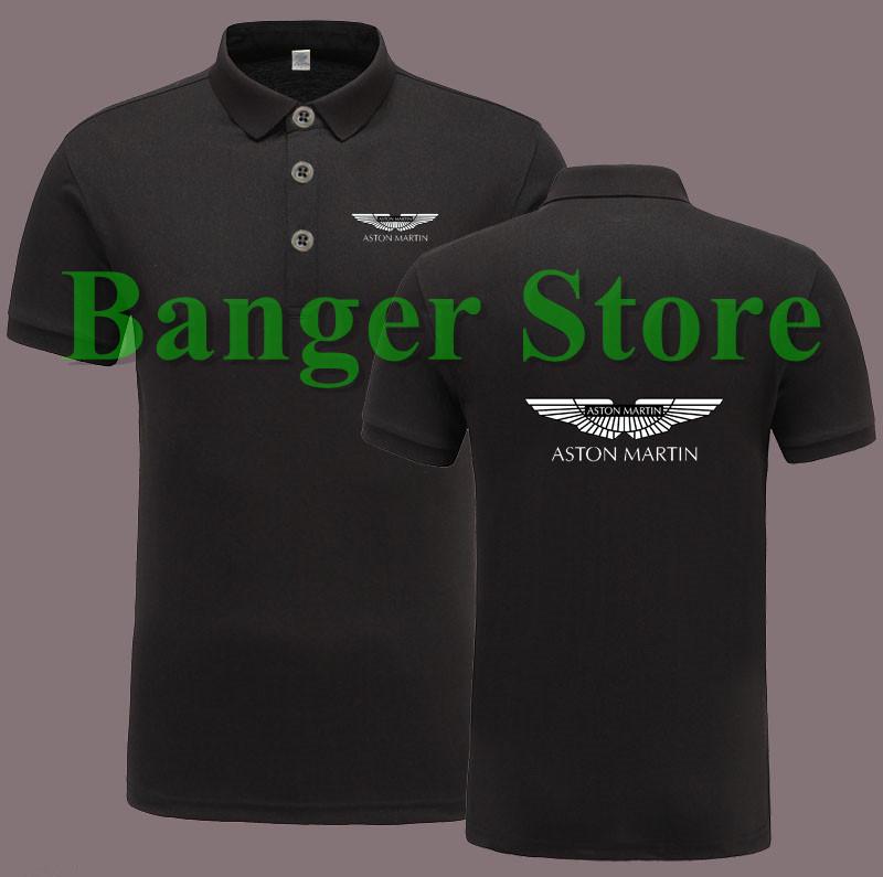 [해외]애스턴 마틴 자동차 로고 POLO 셔츠 반팔 바지 작업복 여성 및 남성을위한/Aston Martin car logo POLO shirt short sleeve overalls work clothess for women and men