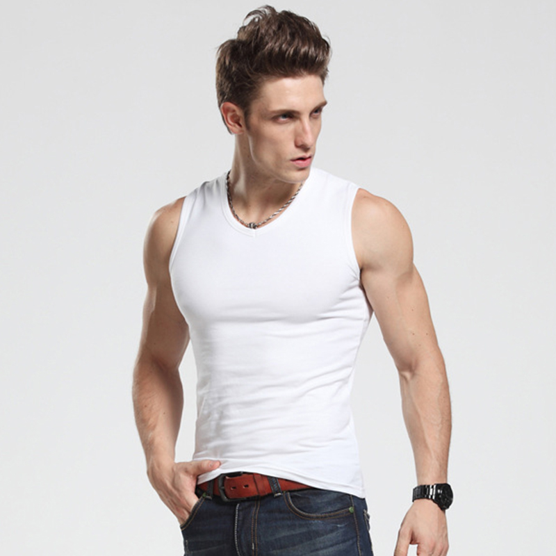 [해외]브랜드 남성 탱크 탑 남성 보디 빌딩 탱크에 대한 브랜드 패션면 스포츠 중항는 O-넥 민Retail 캐주얼 여름 조끼 탑/Brand Mens Tank Tops Brand Fashion Cotton Sport Undershirts For Male Bodybuild