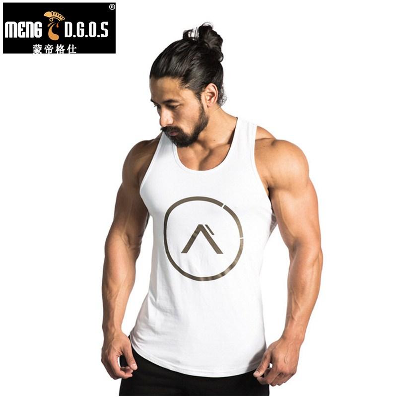[해외]남성 여름 체육관 의류 피트니스 보디 빌딩 탱크 탑 스트링거 싱글 렉시티 단색 조끼 민Retail 셔츠 슬링/Mens summer gyms clothing Fitness Bodybuilding Tank Top Stringer Singlet Crossfit Sol