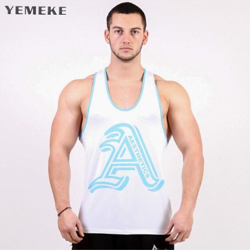 [해외]YEMEKE 2018 체육관 조끼 남자 면화 까마귀 스웨터 피트니스 옷 보디 빌딩 탱크 탑 민Retail 스포츠 셔츠 티셔츠/YEMEKE 2018 gyms vest Men Cotton Hoodie Sweatshirts fitness clothes bodybuil
