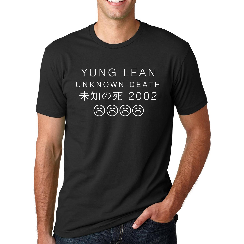 [해외]문자 인쇄 YUNG 린 UNKNOWN 사망 슬픈 소년 T 셔츠 남자의 스트리트 반팔 O-넥 T 셔츠 2016 여름 힙합 탑을/Letter Printed YUNG LEAN UNKNOWN DEATH Sad Boys T-shirts Men&s Streetwear Sh
