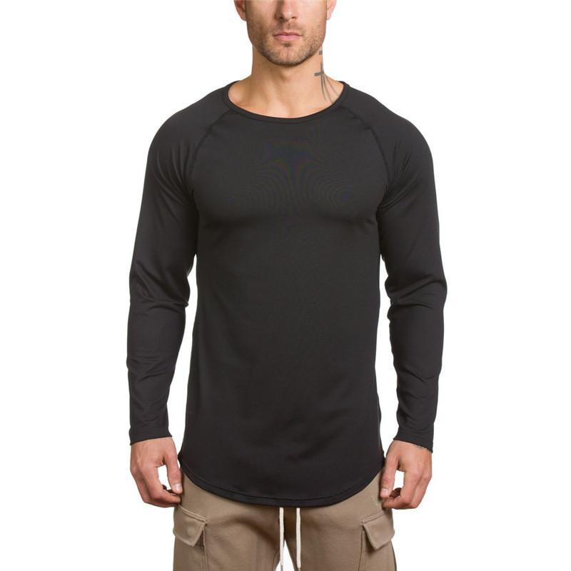 [해외]YEMEKE New Fashion 2017 남성 남성 캐주얼 t ??셔츠 남성 캐주얼 톰 블랙 긴팔 티셔츠/YEMEKE New Fashion 2017 Summer Mens t shirt Men casual homme black long sleeve t-shirt