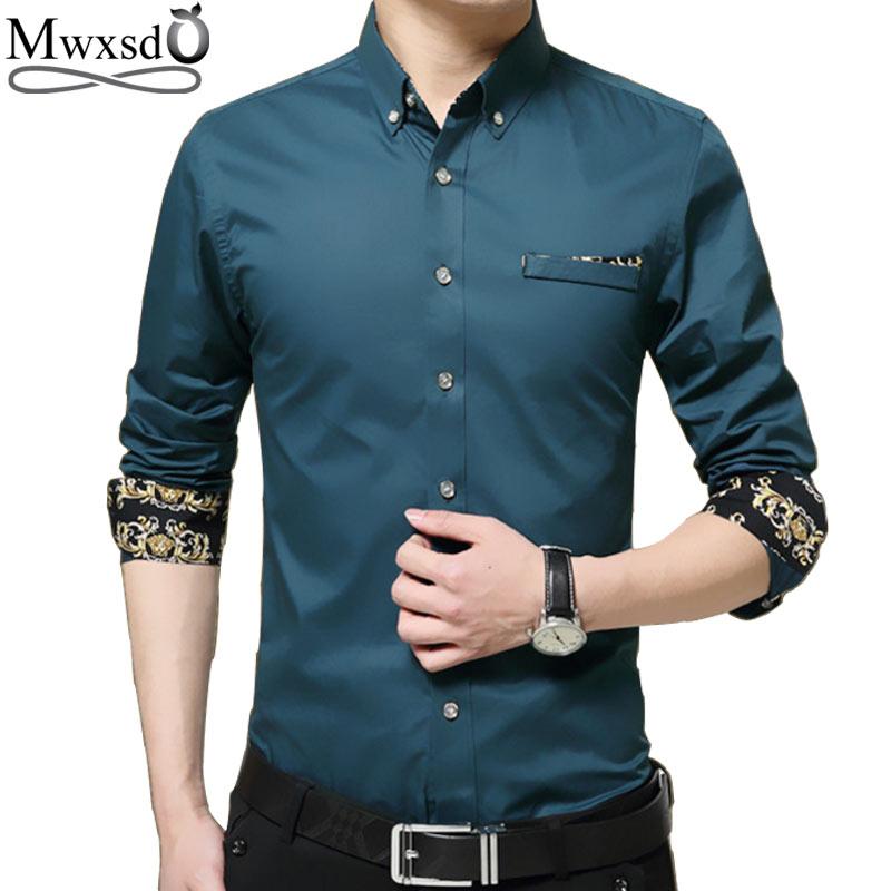 [해외]고품질 2017 캐주얼 망 긴 Retail 셔츠 브랜드 망 슬림 맞는 드레스 셔츠 homme 사회 셔츠 큰 크기 m -5xl/high quality 2017 casual Mens long sleeve Shirt brand mens slim Fit dress Sh