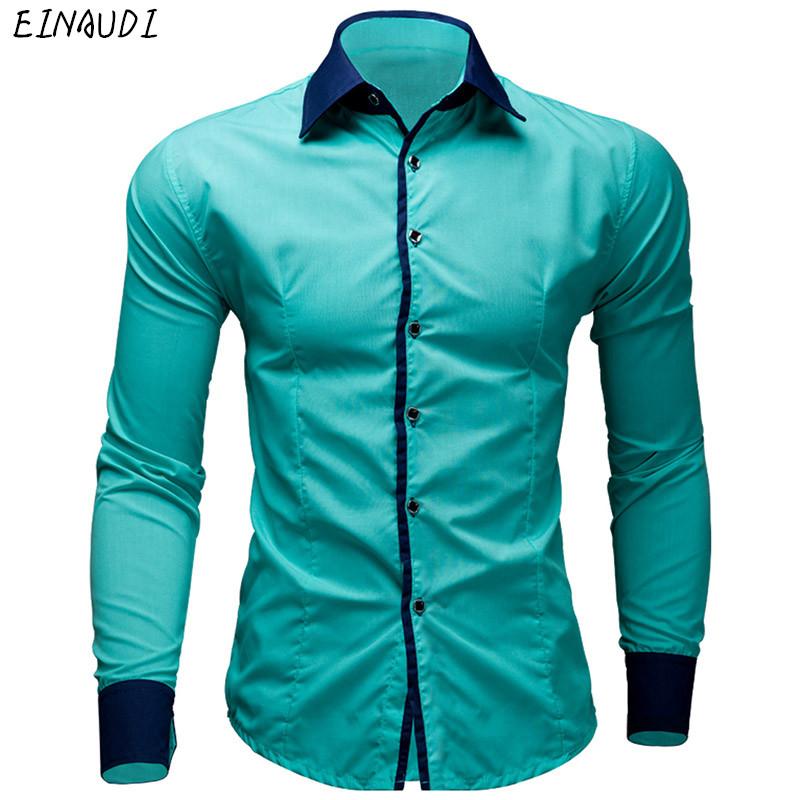 [해외]EINAUDI 신사복 드레스 셔츠 캐주얼 셔츠 하와이안 스타일 슬림 긴팔 드레스 셔츠 캐미 사 Masculina 캐주얼 셔츠 M-XXL/EINAUDI New Mens Dress Shirts Casual Shirts Hawaiian Style Slim Long S