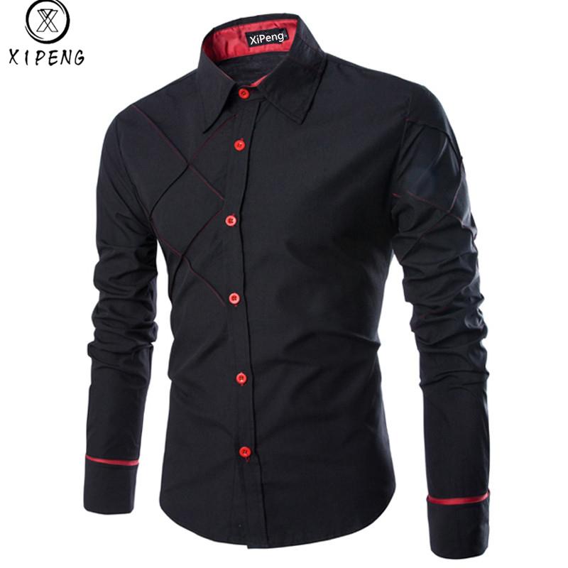 [해외]남성 셔츠 2018 봄 새로운 브랜드 비즈니스 남자 & s 슬림 피트 복장 셔츠 남성 긴 Retail 줄무늬 셔츠 camisa masculina 크기 M-3XL/Men Shirt 2018 Spring New Brand Business Men&s Slim