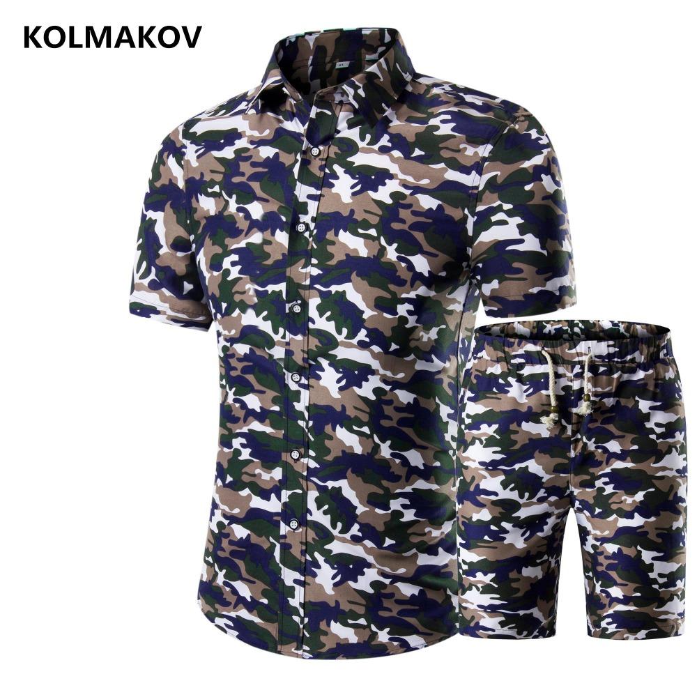 [해외](셔츠 + 반바지) 2018 여름 짧은 Retail 남자 & 셔츠 고품질 캐주얼 남자 DressSlim 맞춤 코 튼 남자 탄성 셔츠 망/(Shirt + shorts)2018 summer Short sleeve Men&s Shirts high quality