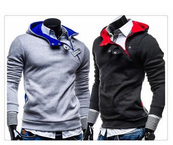 [해외] 2015 패션 한국 스타일의 긴 Retail 남자 스마트 문 까마귀/Free shipping 2015 fashion korea style long sleeve men smart statement hoodie