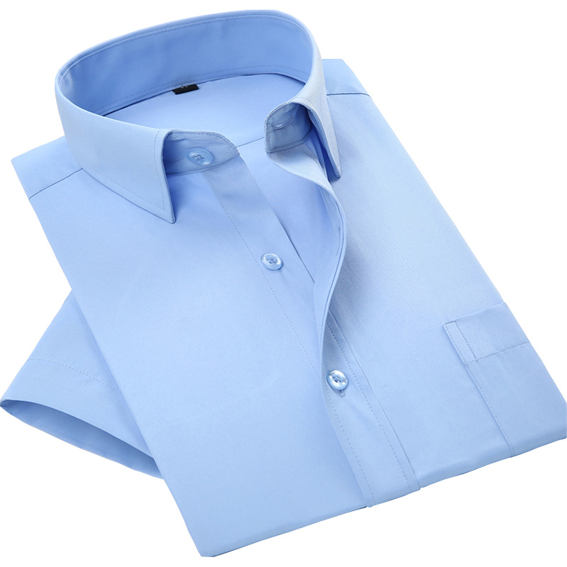 [해외]2017 여름 짧은 Retail 비즈니스 남성 드레스 셔츠 인기 남성 캐주얼 남성 셔츠 camisa masculina/2017 New Arrival Summer Short Sleeve Business Men Dress Shirts Popular  Male Cas