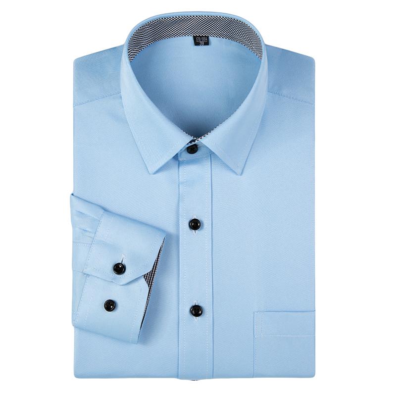 [해외]2017 새로운 남성 & s 브랜드 드레스 셔츠 고품질 긴 Retail 셔츠 클래식 쉬운 관리 사업 공식 셔츠 남자 Camisa Masculina/2017 new Men&s brand dress shirts High quality long sleeve s