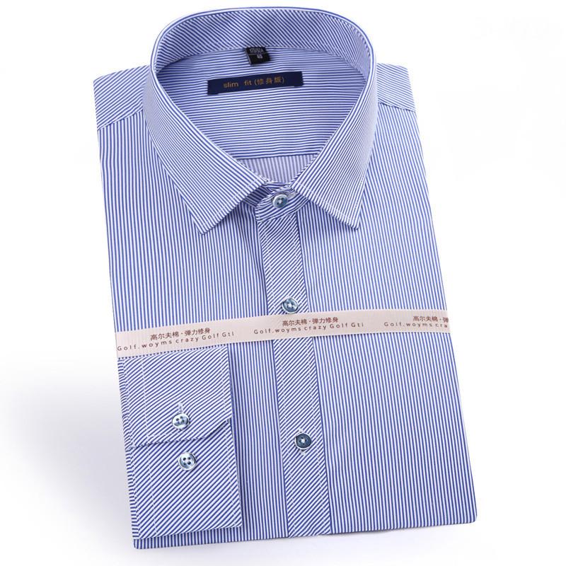 [해외]추천 좋은 품질 목화 및 대나무 섬유 가슴 Retail 비즈니스 남성 드레스 셔츠없이 마이크로 탄성 슬림 피트 긴 Retail/Recommend good Quality cotton and bamboo fiber micro-elastic slim fit long