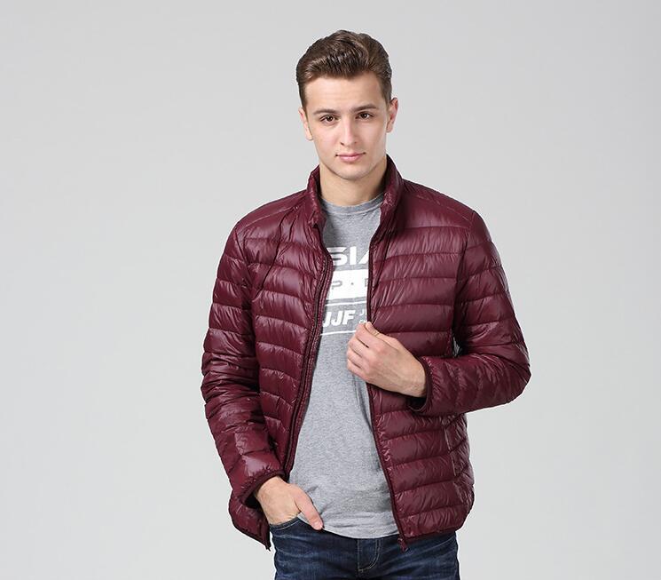 [해외]새로운 초경량 남성 90 % 하얀 오리 다운 자켓 겨울 코트 오리 다운 코트 방수 다운 파카 자켓/New Ultralight Men 90% White Duck Down Jacket Winter coats Duck Down Coat Waterproof Down P