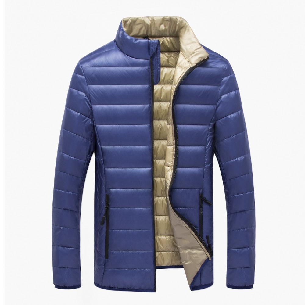 [해외] 캐주얼 초경량 남성 오리 다운 재킷 가을 & A; 겨울 재킷 남성 경량 덕 다운 자켓 남성 코트/Free shipping Casual Ultralight Mens Duck Down Jackets Autumn & Winter Jacket Men L