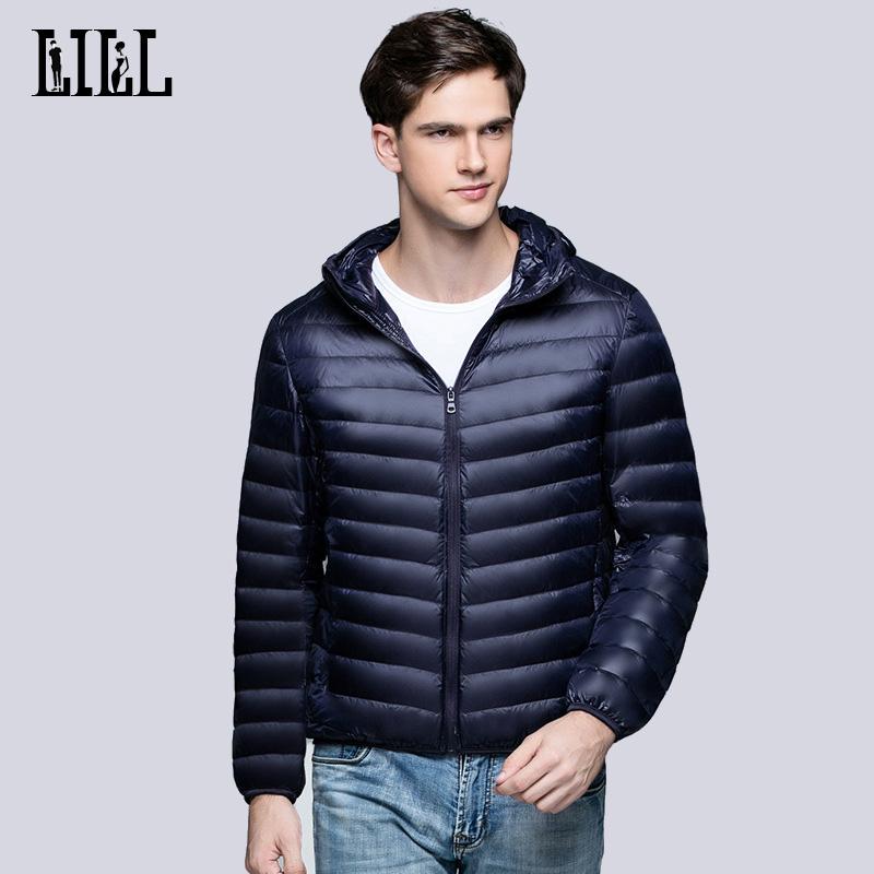 [해외]2017 봄 남성 울트라 라이트 95 % 하얀 오리 다운 재킷 남성 패션 통기성 코트 가을 캐주얼 남성 깃털 재킷, UMA340/2017 Spring Mens Ultra Light 95% White Duck Down Jackets Men Fashion Breat