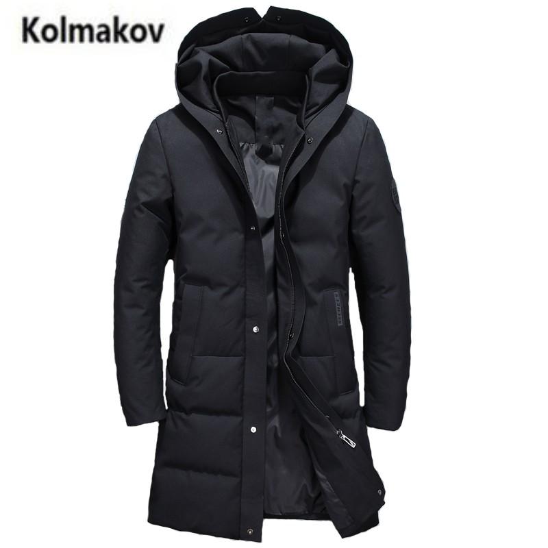 [해외]2017 새로운 겨울 높은 품질의 남자 & s 패션 후드 재킷, 90 % 하얀 오리 코트 아래 단색 따뜻한 파카 남자, M-3XL 긴 후드./2017 new winter high quality men&s fashion hooded long down jac