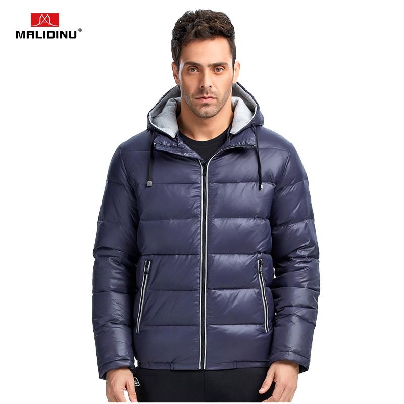 [해외]MALIDINU 2017 신 남성 다운 재킷 겨울 자켓 남성 70 % 화이트 다운 겨울 다운 코트 다운 코트 다운 코트/MALIDINU 2017 New Men Down Jacket Winter Jacket Mens 70%White Duck Down Winter